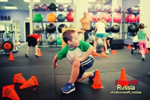 Детский кроссфит. Что такое кроссфит для детей