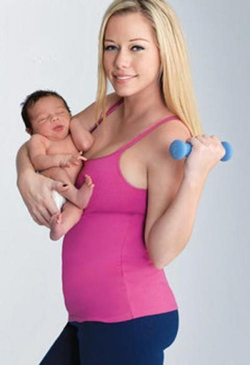 Как быстро скинули вес после родов