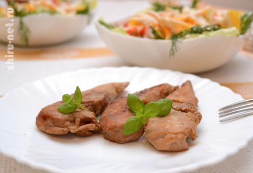 Диетическая куриная грудка на сковороде. Как приготовить куриную грудку сочно