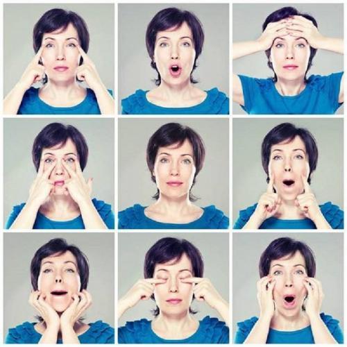 Упражнения для лица для подтяжки мышц лица. Гимнастика для подбородка и овала лица: зачем и почему
