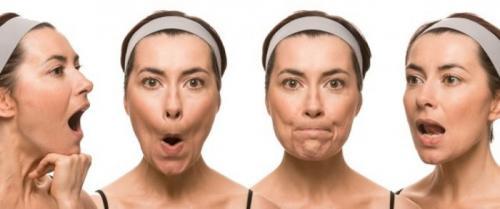 Упражнения для подтяжки мышц лица. Для укрепления мышц губ