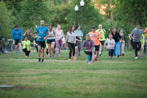 Бесплатные тренировки в Москве в парках