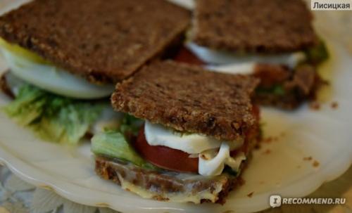 """Хлеб фитнес состав. Тот случай, когда слово """"фитнес"""" - не маркетинговый ход. Вариант полезных сэндвичей и много ФОТО."""
