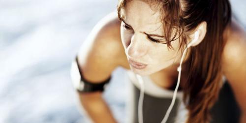 Как дышать при беге для похудения.