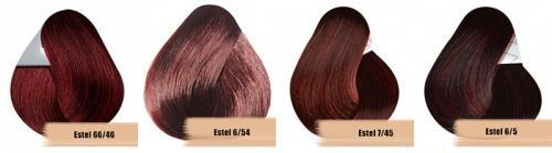 Бургундский цвет волос. Кому подходит бургундский цвет волос и как получить нужный оттенок 23