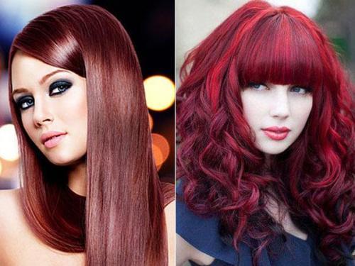 Бургундский цвет волос. Кому подходит бургундский цвет волос и как получить нужный оттенок