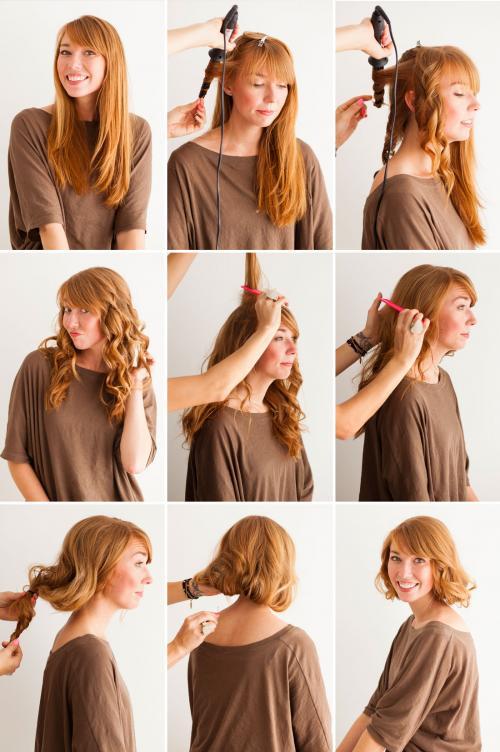 Как сделать видимость длинных волос, как коротких?. Короткие волосы без стрижки: узнай, как!