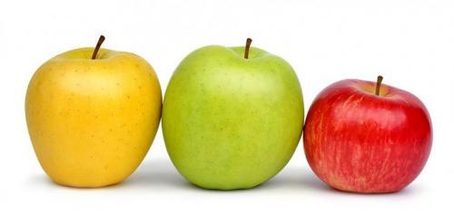 Яблоки калории на 1 яблоко. Калорийность разных типов яблок