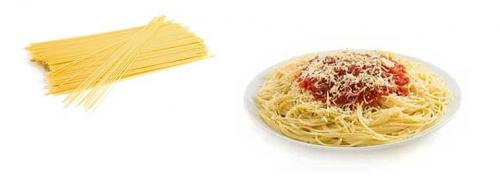 Сколько ккал в спагетти. Диетические свойства: