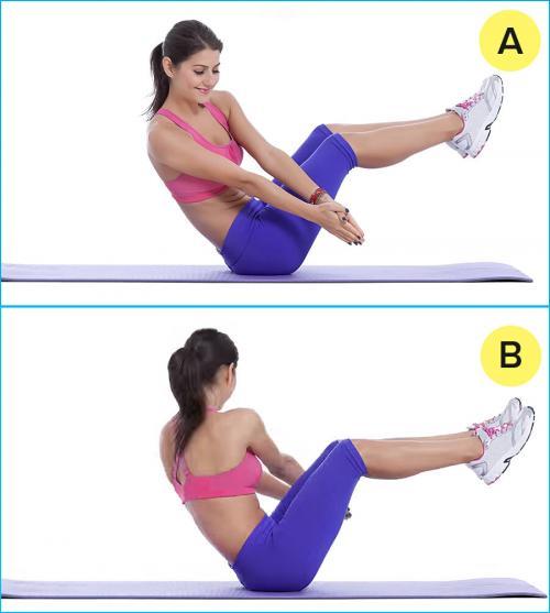 Упражнения для похудения. 10 жиросжигающих упражнений, которые можно делать прямо на диване. 5-минутный комплекс