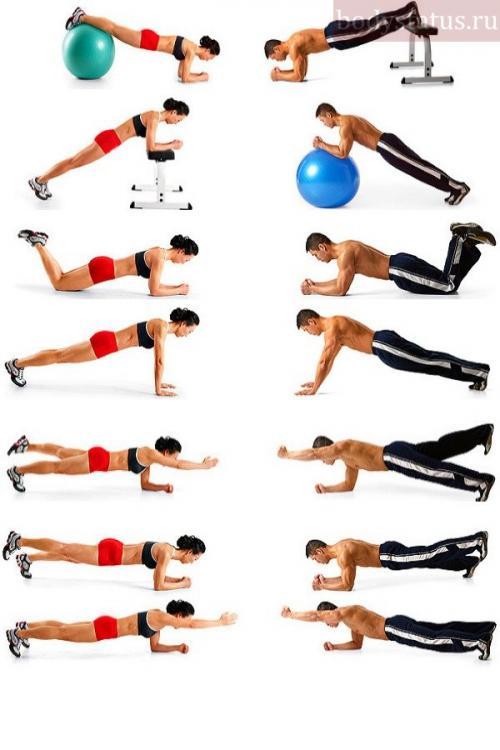 Сколько делать планку в день. Как правильно делать упражнение на пресс Планка?