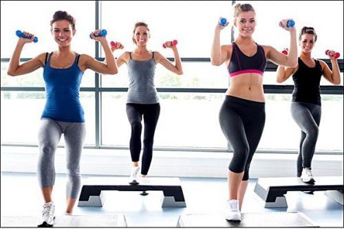 Фитнес аэробика дома для похудения. Виды фитнеса