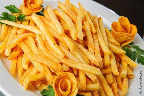 Сколько ккал в картошке. Таблица калорийности картофеля при разной обработке