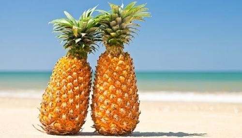Сколько калорий в ананасе сушеном и консервированном
