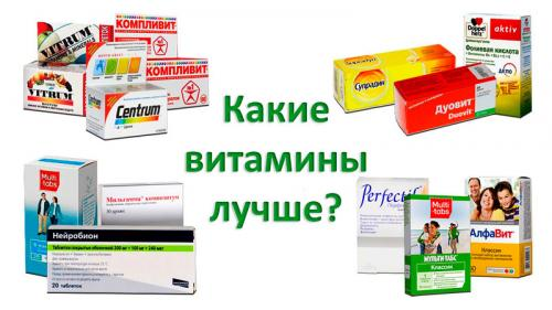 Рейтинг витаминно-минеральных комплексов. Топ-10 лучших витаминных комплексов