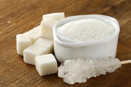 Сколько калорий в сахаре 1 чайная ложка. Польза и вред сахара