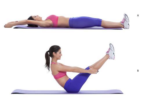 Простые упражнения для похудения живота и боков. 10 самых эффективных упражнений от жира на животе и боках