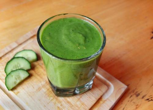 Зеленый коктейль для похудения. Коктейли для похудения