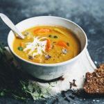 Лёгкий тыквенный крем - суп?