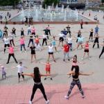 1 июня стартовали занятия по фитнесу.