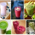 7 рецептов фитнесс - коктейлей.
