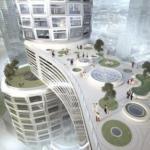 Velo Towers - проект вертикальной городской инфраструктуры в Сеуле.