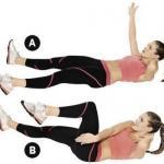 Упражнения для талии и бедер?
