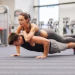 Фитнес эротика: функциональная тренировка с девушкой.