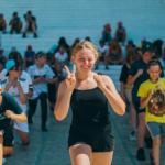 Мастер класс по тай - бо от нашего фитнес инструктора Татьяны!