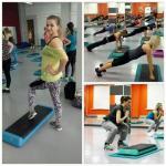 Степ - интервал - это чередование различных упражнений - прыжков, приседаний, отжиманий и т. д. - с базовыми шагами на степ - платформе.