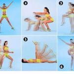 6 фитнес - упражнений для тех, кто вечно спешит.