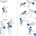 Мама здоровая и красивая: упражнения дома с ребенком!