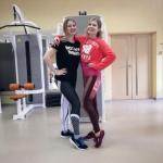 В группе тренера групповых программ и тренажерного зала Алены Яшиной: