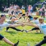 Воскресный фестиваль фитнеса ЗФ - в ритме спорта.