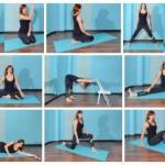 Растяжка: упражнения для разных частей тела.