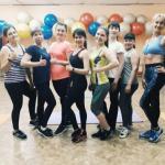 Любимые девочки. Спасибо всем, кто посещал мои тренировки по фитнесу.