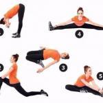 Стретчинг!   5 упражнений для ежедневной растяжки.